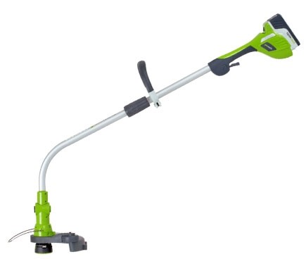GreenWorks 20V 12'' Li-Ion String Trimmer Model 21072 no Battery - Keen  Edge Corp