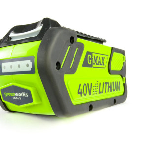The G-MAX 40V 4AH Lithium-Ion Battery Features At-A-Glance