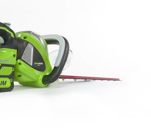 G-MAX 40V 24-Inch Cordless Rotating Hedge Trimmer